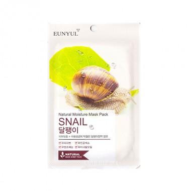 Маска тканевая с муцином улитки, 22 мл — Natural Moisture Mask Pack Snail