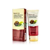 ББ крем с муцином улитки SPF50/PA+++ Visible Difference Snail BB Cream FarmStay, 50 гр
