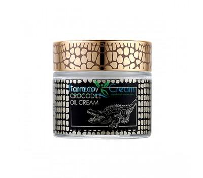 Крем для лица с жиром крокодила Crocodile Oil Cream FarmStay, 70 гр