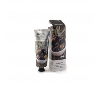 Крем для рук с экстрактом оливы, 100г, FarmStay