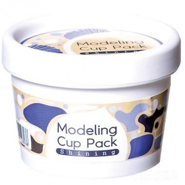 Альгинатная маска для сияния кожи с жемчугом, 15 г — Modeling Cup Pack Shining
