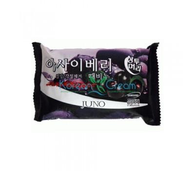 Мыло с отшелушивающим эффектом с асаи Acai Berry Peeling Soap JUNO, 150 г