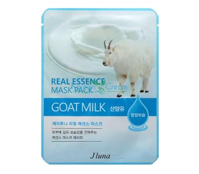 Тканевая маска с козьим молоком, 25мл, Jluna