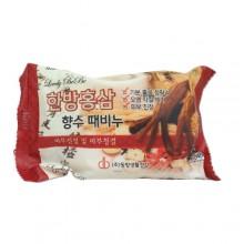 Мыло с отшелушивающим эффектом парфюмированное с красным женьшенем, 120 г