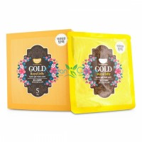 Гидрогелевая маска для лица с коллоидным золотом и пчелиным маточным молочком Gold & Royal Jelly Hydro Gel Mask Pack KOELF