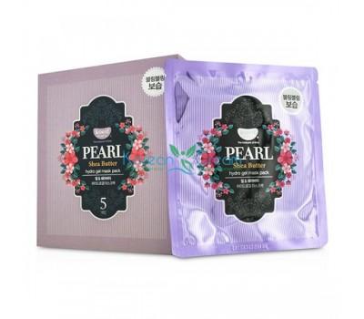 Гидрогелевая маска для лица с жемчужной пудрой и маслом ши Pearl & Shea Butter Hydro Gel Mask Pack KOELF