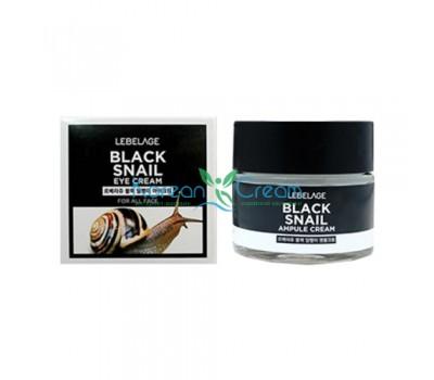 Крем для области вокруг глаз с муцином чёрной улитки Black Snail Eye Cream LEBELAGE, 70 мл