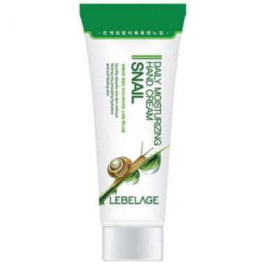 Крем для рук увлажняющий с муцином улитки Daily Moisturizing Snail Hand Cream LEBELAGE, 100 мл