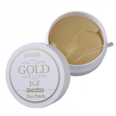 Гидрогелевые патчи для области вокруг глаз с золотом и EGF, 60 шт — Gold & EGF Premium Hydrogel Eye Patch