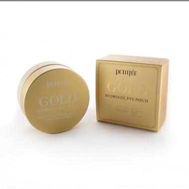 Гидрогелевые патчи для области вокруг глаз с золотом, 60 шт — Gold Hydrogel Eye Patch