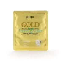 Гидрогелевая маска для лица с золотом Gold Hydrogel Mask Pack PETITFEE