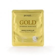 Гидрогелевая маска для лица с золотом, 32 г