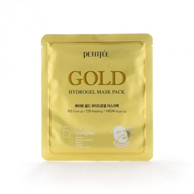 Гидрогелевая маска для лица с золотом, 32 г — Gold Hydrogel Mask Pack