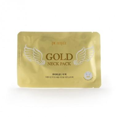 Гидрогелевая маска для шеи с золотом для упругой и гладкой кожи, 10 г — Gold Neck Pack For Firming & Silky Smooth Neck