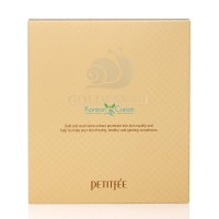 Гидрогелевая маска для лица с золотом и муцином улитки Gold & Snail Hydrogel Mask Pack PETITFEE