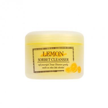 Очищающий гидрофильный сорбет с экстрактом лимона Lemon Sorbet Cleanser The Skin House, 100 мл