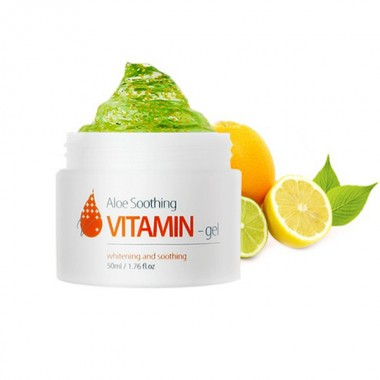 Витаминный гель с экстрактом алоэ, 50 мл — Aloe Soothing Vitamin Gel