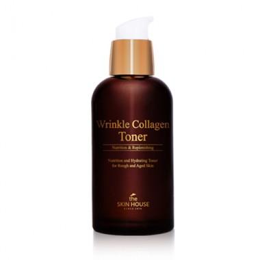 Антивозрастной тонер с коллагеном, 130 мл — Wrinkle Collagen Toner