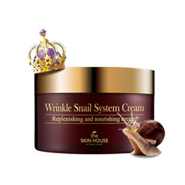 Антивозрастной крем на основе муцина улитки, 100 мл — Wrinkle Snail System Cream