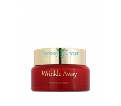 Обновляющий крем с экстрактом галактомисиса Wrinkle Away Fermented Cream The Skin House, 50 мл
