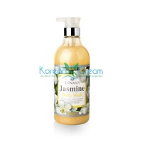 Гель для душа с экстрактом жасмина Body Wash Jasmine LUNARIS, 750 мл